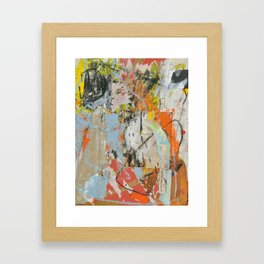 Message from beyond Framed Art Print