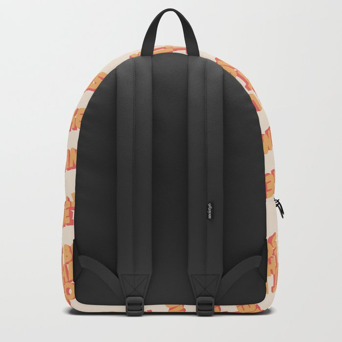 """It be like that sometimes"" Backpack"