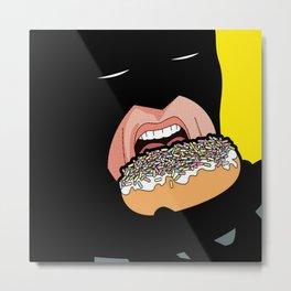 hero and donuts Metal Print