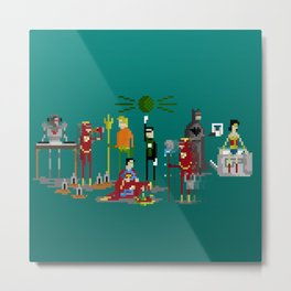 Office Party Metal Print