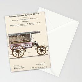 Ambulance Patent 1889 Stationery Cards