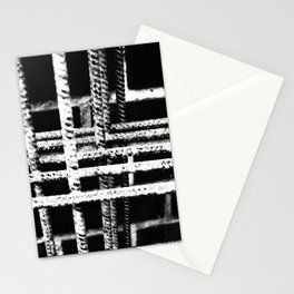 Rebar And Brick - Industrial Abstract Stationery Cards