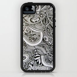 White Noise iPhone Case