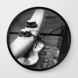 Mason Lake: Dewey Cleat Wall Clock