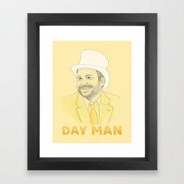 Day Man Framed Art Print