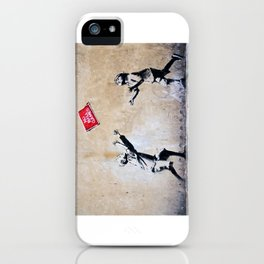 Banksy, Ball Games iPhone Case