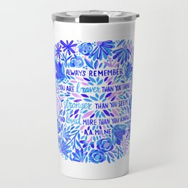 Always Remember – Indigo Palette Travel Mug