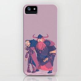Valka&Stoick iPhone Case
