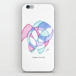 Cirque-Cle #5 iPhone Skin