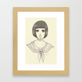 Rei Framed Art Print
