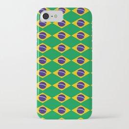 flag of brazil 2-Brazil, flag, flag of brazil, brazilian, bresil, bresilien, Brasil, Rio, Sao Paulo iPhone Case