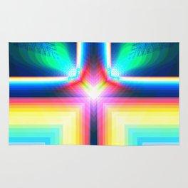 Digital Rainbow Rug