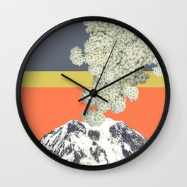 Yarrow Plume Wall Clock