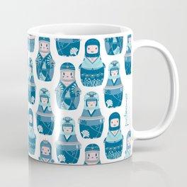 Matrioshkas Pattern Coffee Mug