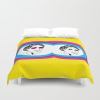 virginia Duvet Covers featuring Virginia Woolf by Mohac