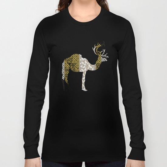 FabCreature · CaDeerPa 4 Long Sleeve T-shirt