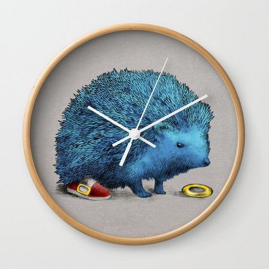 Sonic (color option) Wall Clock
