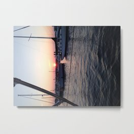 Stonington Harbor Metal Print