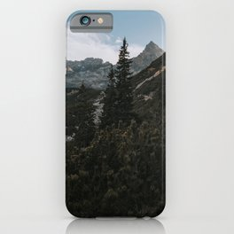 Into the mountains - Landscape and Nature Photography iPhone Case