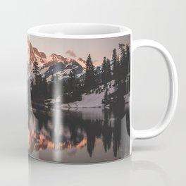 Alpenglow - Mountain Reflection - Nature Photography Coffee Mug