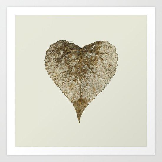 heart nature Art Print