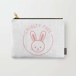 Cruelty Free - Bunny Carry-All Pouch