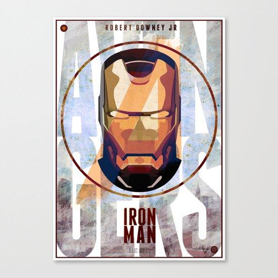Avengers : IRON MAN print  Canvas Print