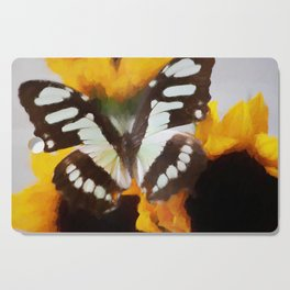 Summer Butterfly Cutting Board