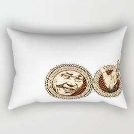 Nelson Mandala Rectangular Pillow