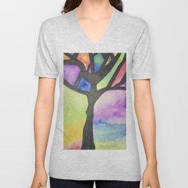 Tree of Faith Unisex V-Neck