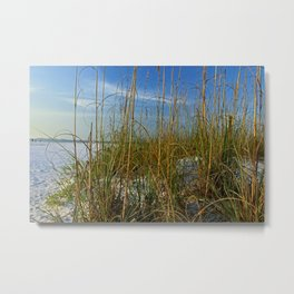 Connected by the Sea Metal Print
