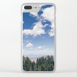 Sandia Crest Clear iPhone Case