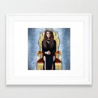 lorde Framed Art Prints featuring Lorde by Justinhotshotz