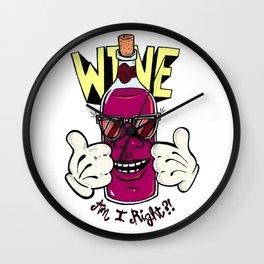 Wine... Wall Clock