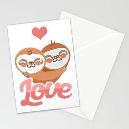 Sloth Love Funny Sleepy Sloths Forest Nature Wildlife Animals Zoo Wilderness Animalia Gift Stationery Cards
