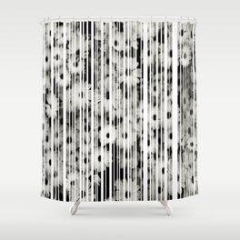 Flower Bars Shower Curtain