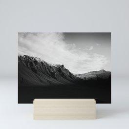 Back Mountains Mini Art Print