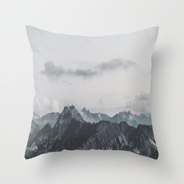 Calm - landscape photography Throw Pillow