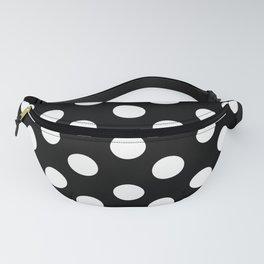 Polka Dot (White & Black Pattern) Fanny Pack