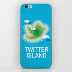 Twitter Island iPhone & iPod Skin