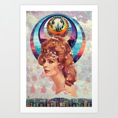 Teardrops Art Print