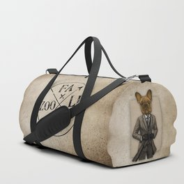 Much Handsome, Dapper Doge Duffle Bag