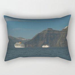 Santorini, Greece 5 Rectangular Pillow
