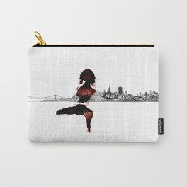 Blood Woman in The City Carry-All Pouch