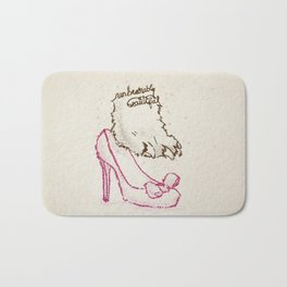 Unbearably Beautiful Bath Mat