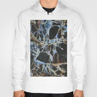 insect Hoodies featuring Insect Graveyard by Rachel Hoffman