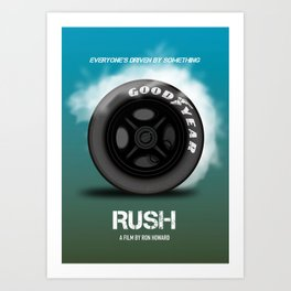 Rush - Alternative Movie Poster Art Print