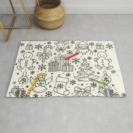 Color Me Christmas Rug