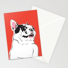 Boston Terrier Side-Eye Stationery Cards