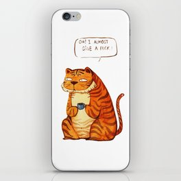 Mr Tiger iPhone Skin
